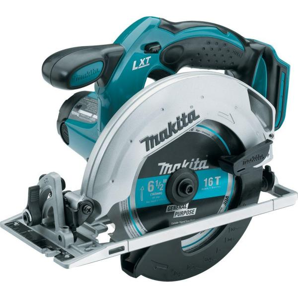 18-Volt LXT Lithium-Ion Cordless 6-1/2 in. Lightweight Circular Saw and General Purpose Blade (Tool-Only)