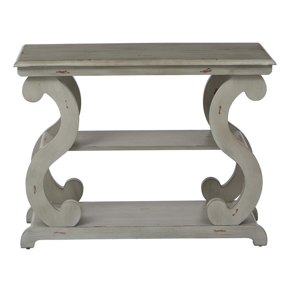 Ashland Antique Grey Console Table