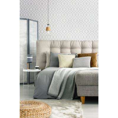 Art in Chaos Collection Dazed in Quill Grey Premium Matte Wallpaper