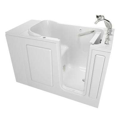 Exclusive Series 48 in. x 28 in. Right Hand Walk-In Air Bath Tub with Quick Drain in White