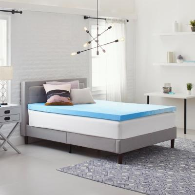 3 in. Gel-Infused Queen Size Memory Foam Mattress Topper