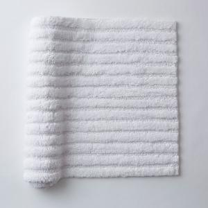 Green Earth Quick Dry White 24 in. x 40 in. Solid Cotton Bath Rug