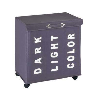 Trivo Laundry Bin in Grey