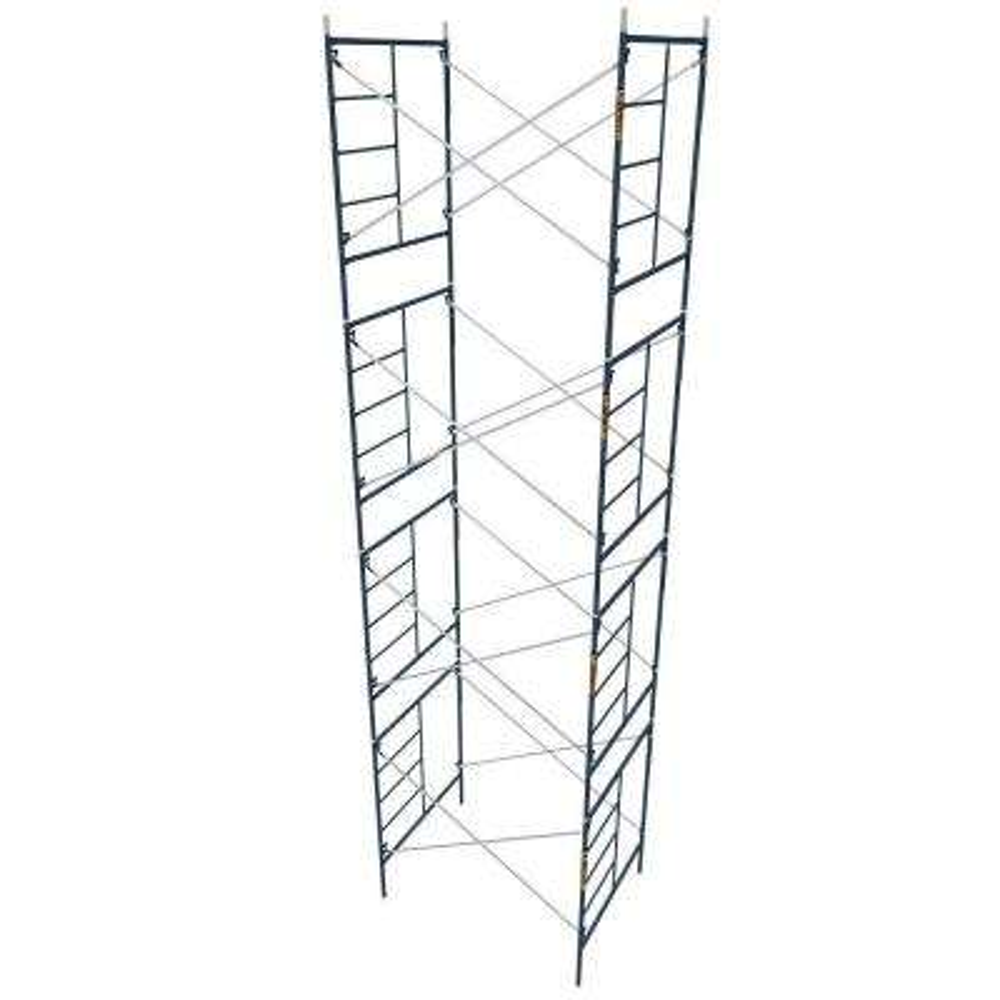 Saferstack 5 ft. x 7 ft. x 6.4 ft. Mason Scaffold (Set of 4)