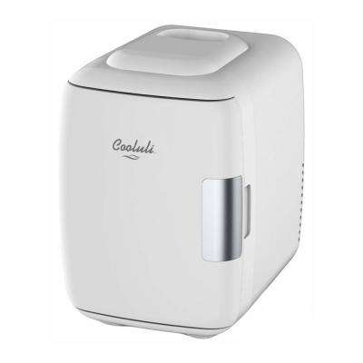Classic 0.14 cu. ft. Retro Mini Fridge in White without Freezer