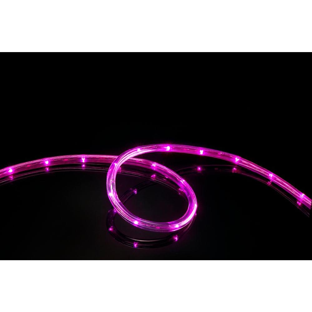 Meilo 16 ft 108 light led pink all occasion indoor outdoor led rope 108 light led pink all occasion indoor outdoor led rope light aloadofball Images