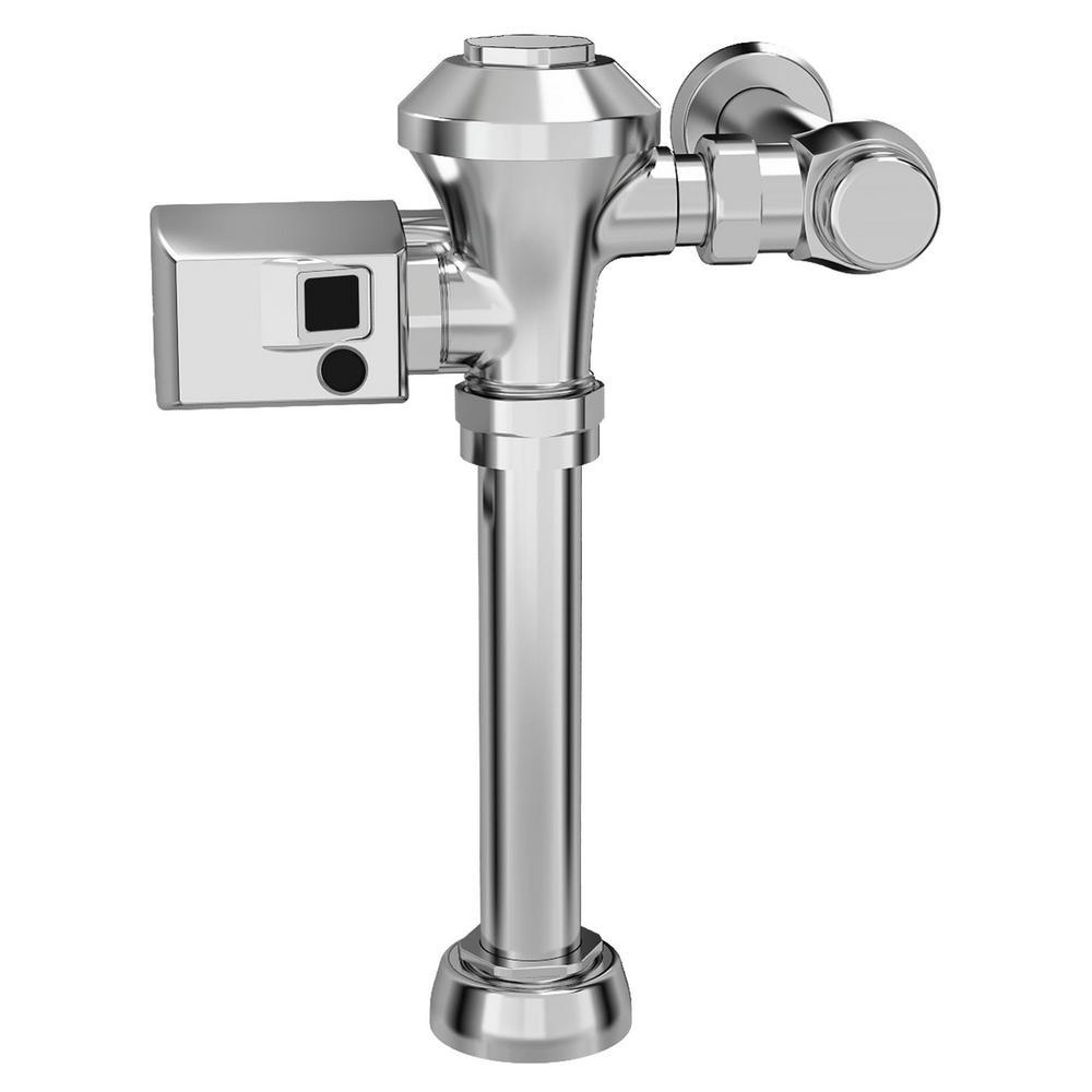 Ultima Sensor-Operated 1.28 GPF Toilet Diaphragm-Type Flush Valve in Polished Chrome