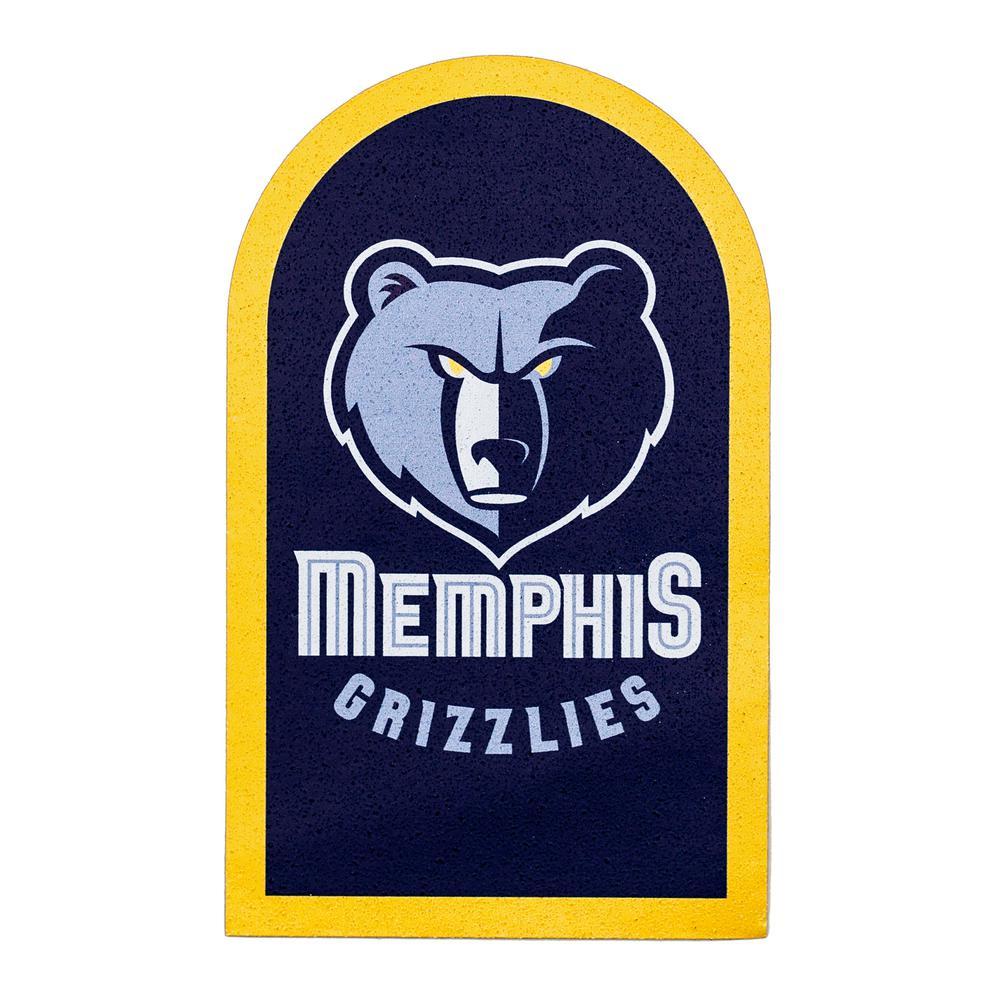 NBA Memphis Grizzlies Mailbox Door Logo Graphic