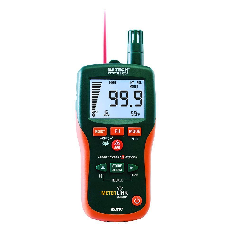 Wireless Moisture Meter, Pinless