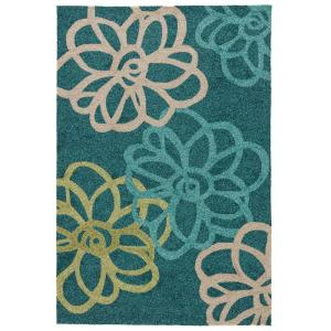 Jaipur Rugs Foliage 5 ft. x 7 ft. 6 inch Floral Indoor/Outdoor Area Rug by Jaipur Rugs