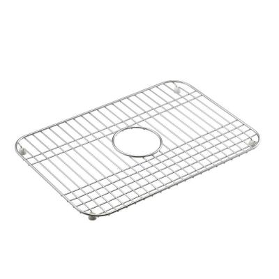 Mayfield 12-1/2 in. x 19 in. Bottom Sink Bowl Rack in Stainless Steel