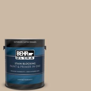 1 gal. Home Decorators Collection #HDC-SM16-09 Sail Grey Satin Enamel Exterior Paint & Primer