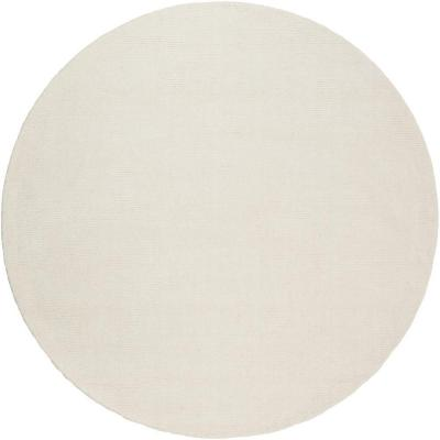 Falmouth Ivory 6 ft. x 6 ft. Round Indoor Area Rug