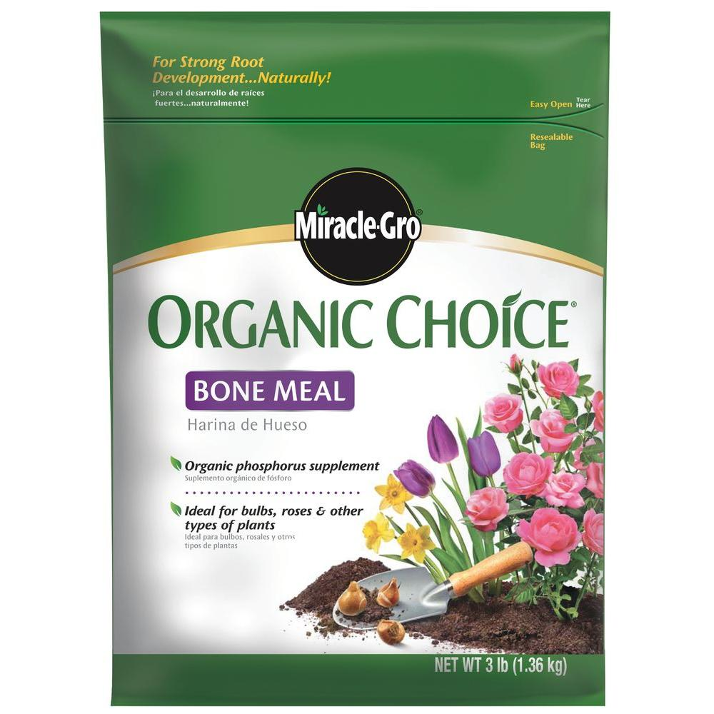 Miracle-Gro Organic Choice 3 lb. Bone Meal Fertilizer