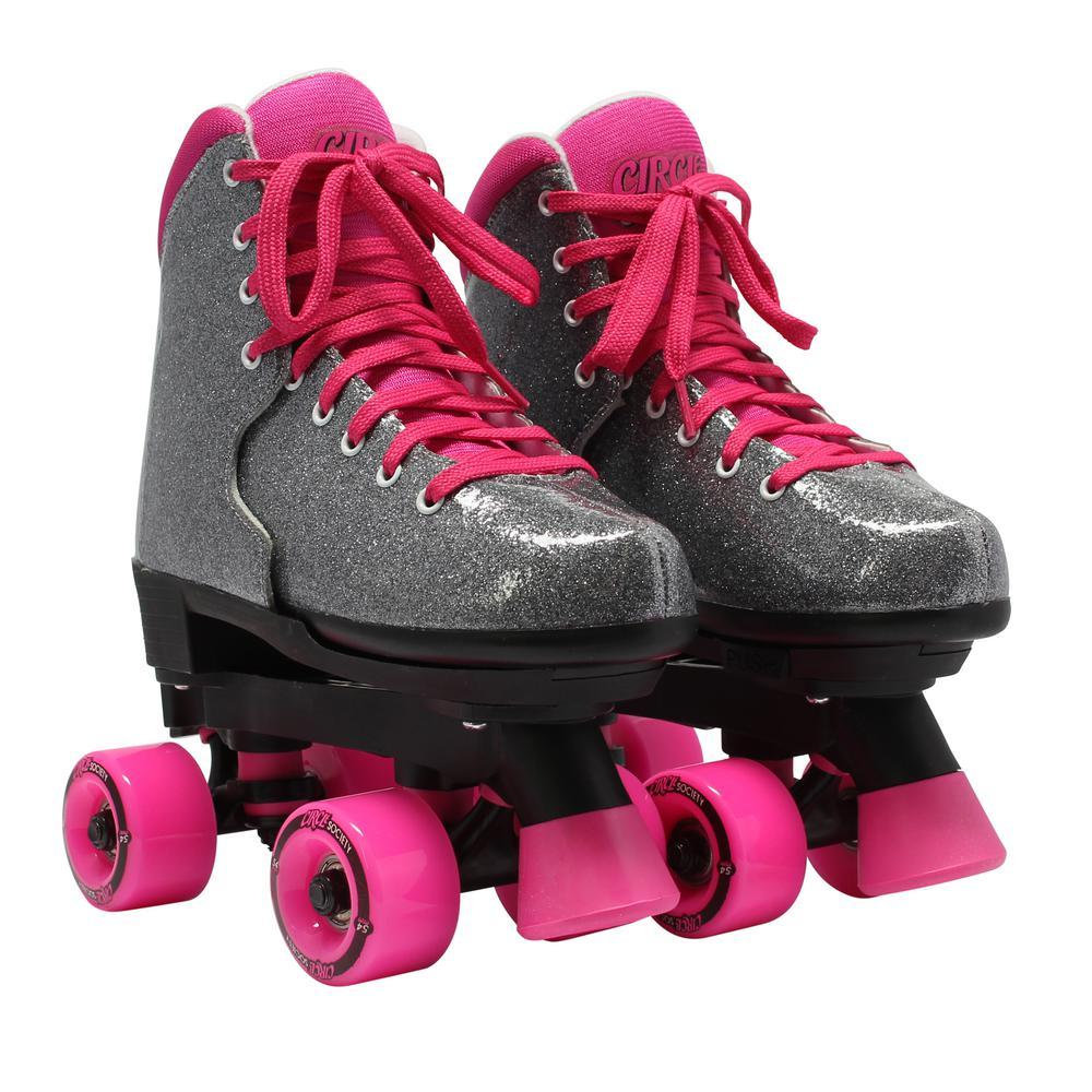 Girls Size 3-7 Bling Sizzling Pink Skates