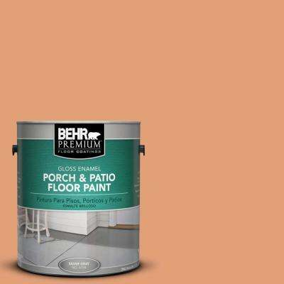 1 gal. #M220-5 Roasted Seeds Gloss Porch and Patio Floor Paint