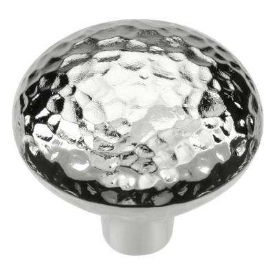 Mountain Lodge Collection 1-3/8 in. Dia Chrome Finish Cabinet Knob