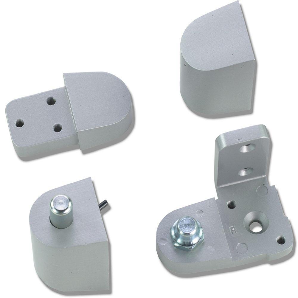 Aluminum Door Pivots : Global door controls aluminum pitco style left hand offset