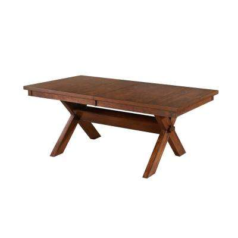 Kraven Dark Hazelnut Dining Table