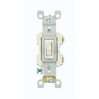 15 Amp Preferred Switch, White