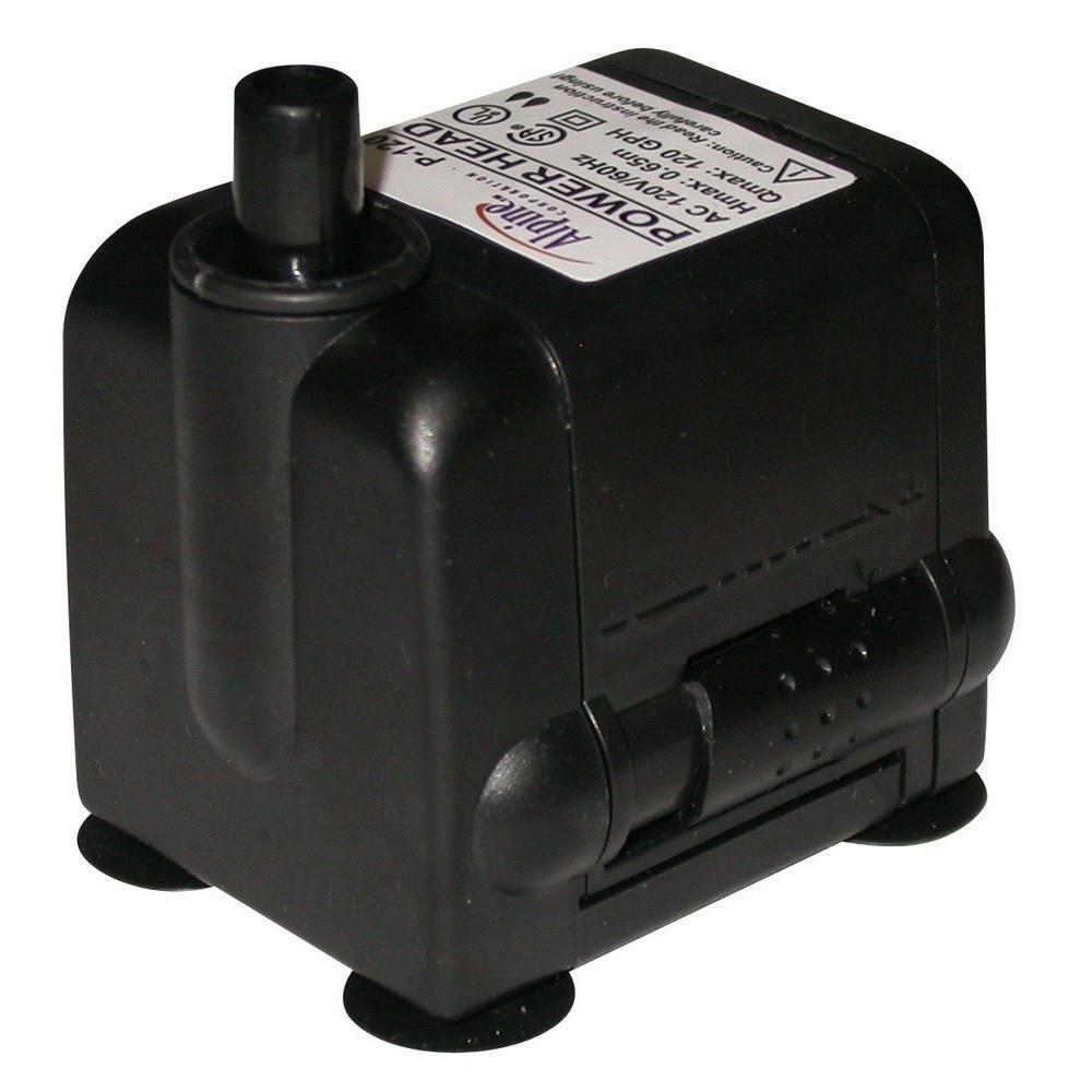 Power Head Pump 120 GPH/6 ft. Cord