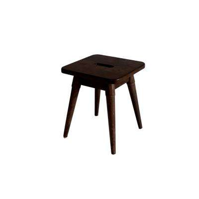 Arendal Solid Wood Square Stool