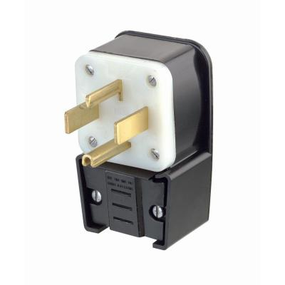 Peachy Leviton 30 Amp 480 Volt 3 Phase Locking Grounding Plug Black White Wiring Database Gramgelartorg