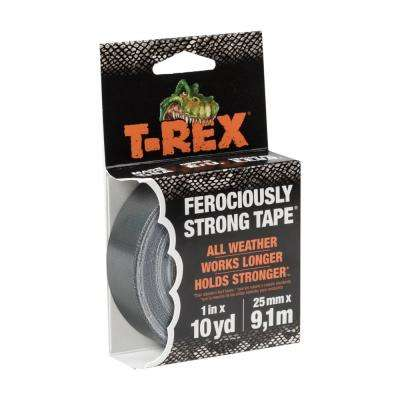 1 in. x 10 yds. Gunmetal Gray Mighty Roll Duct Tape