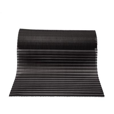 Barepath Black 3 ft. x 30 ft. PVC Safety and Comfort Rug Runner