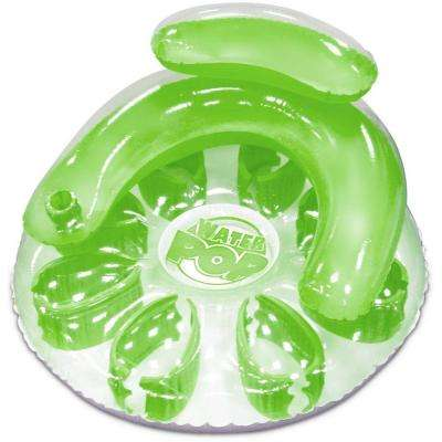 Green Water Pop Circular Pool Float
