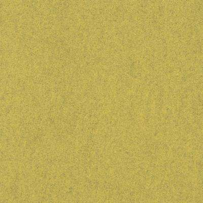 Premium Self-Stick Color Accents Goldenrod 24 in. x 24 in. Indoor/Outdoor Carpet Tile (8 Tiles/32 sq. ft./case)