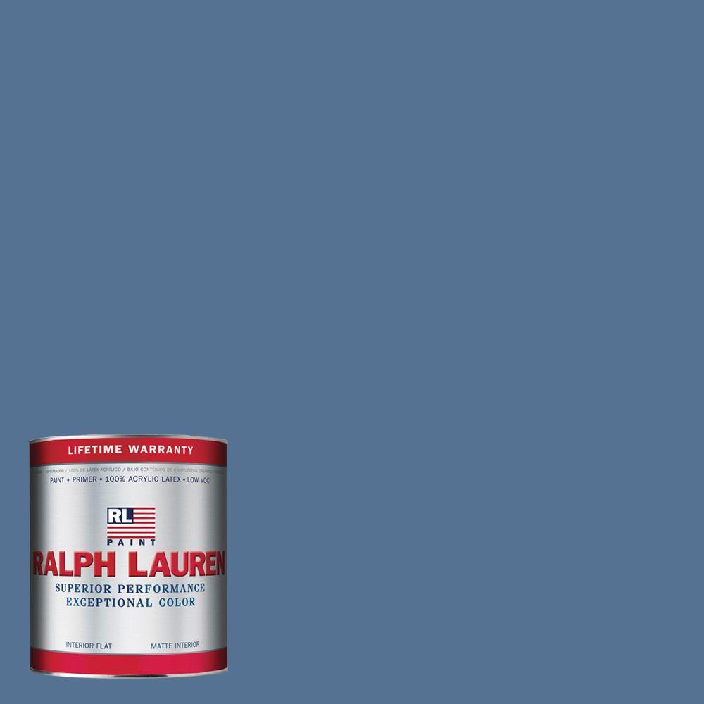 Ralph Lauren 1-qt. Sandoval Blue Flat Interior Paint