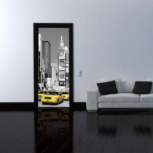Internet #204414651. Ideal Decor 79 In. X 0.25 In. Nyc Times Square Wall  Mural Part 74