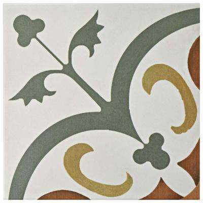 Revival Memory 7-3/4 in. x 7-3/4 in. Ceramic Floor and Wall Tile
