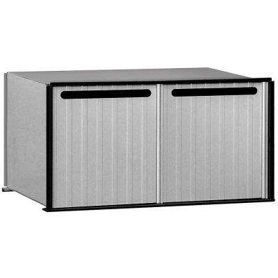 2200 Series 2-Compartments Aluminum Drop Box