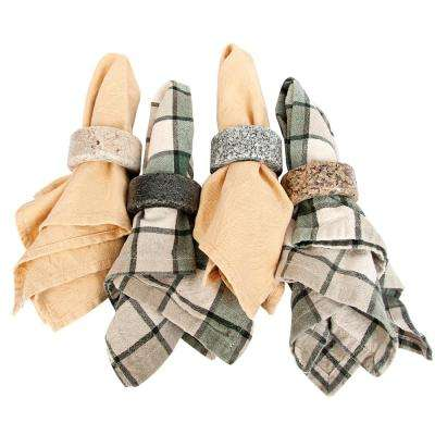Granite Napkin Rings (set of 4)