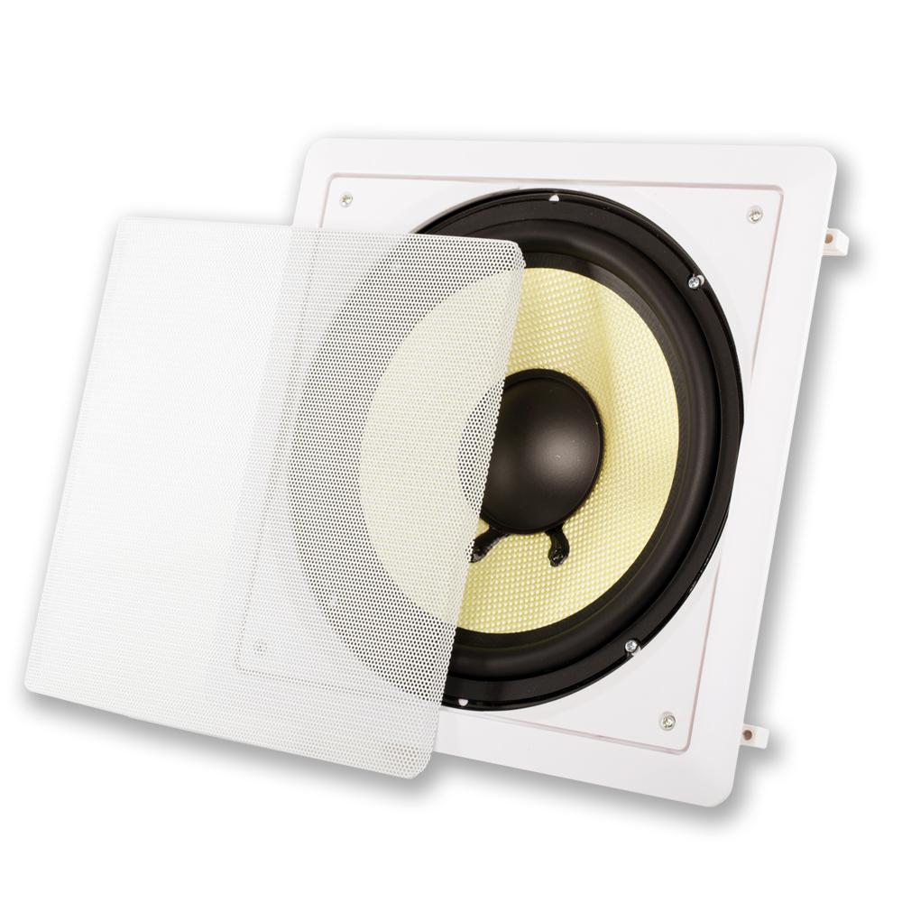 Acoustic Audio HD-S10 in Wall 10 Home Theater Passive Subwoofer ...