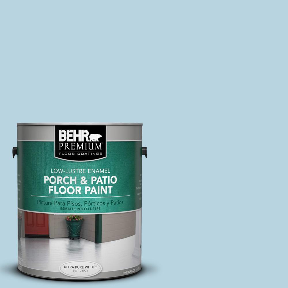 1 gal. #PPU14-16 Millstream Low-Lustre Interior/Exterior Porch and Patio Floor Paint
