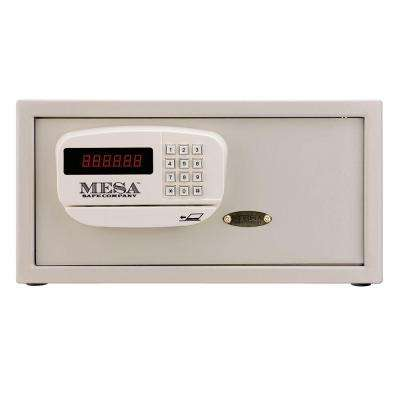 1.2 cu. ft. All Steel Hotel Safe with Electronic Lock, Cream