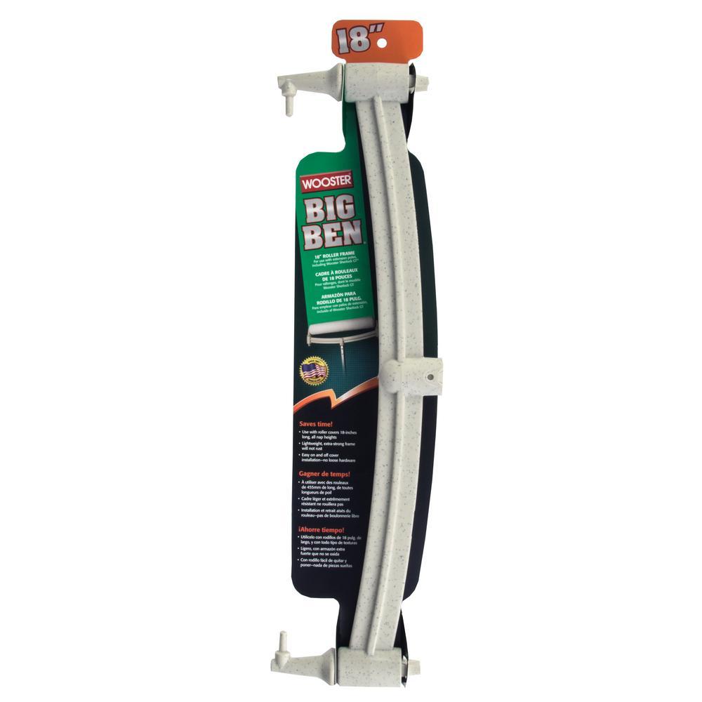 Wooster 18 In Big Ben Roller Frame 0br0450180 The Home Depot
