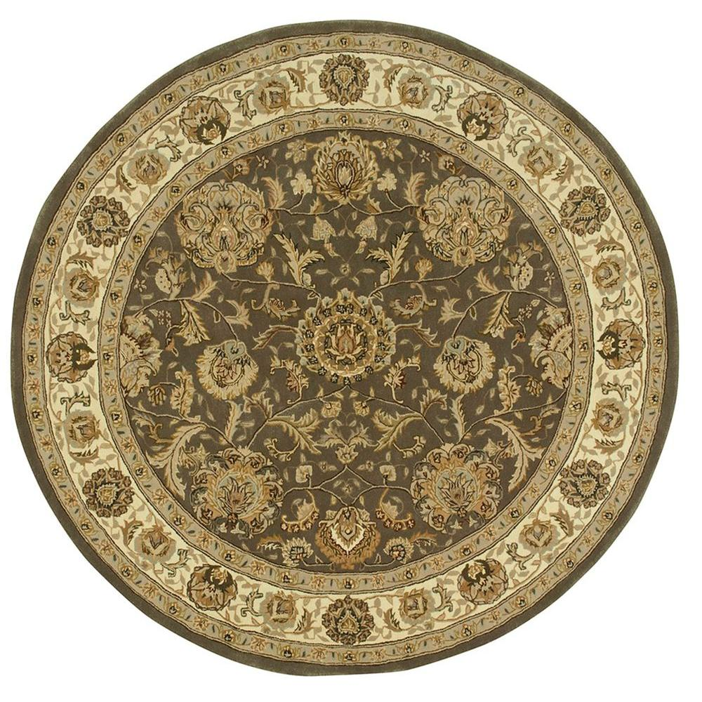 Nourison 2000 Slate 4 Ft. X 4 Ft. Round Area Rug