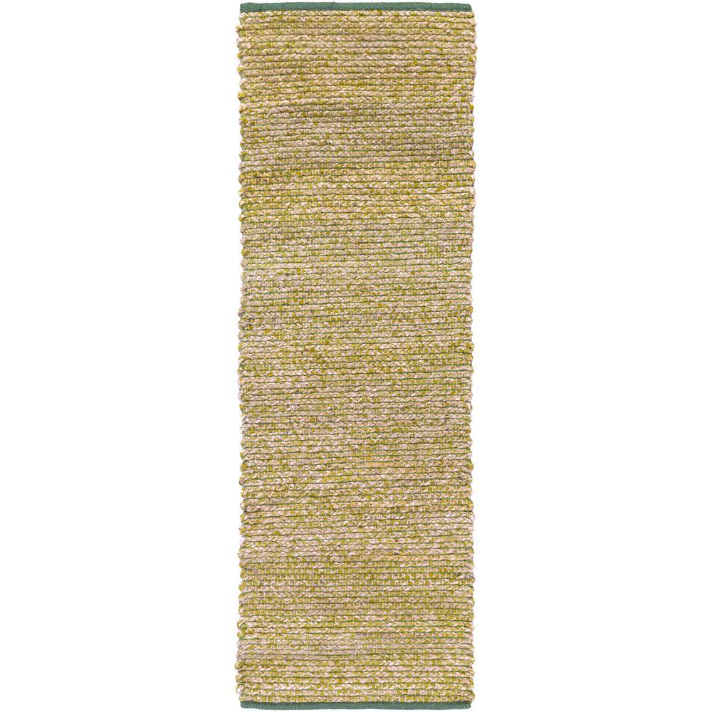 Danbury Grass Green 3 ft. x 8 ft. Runner Rug