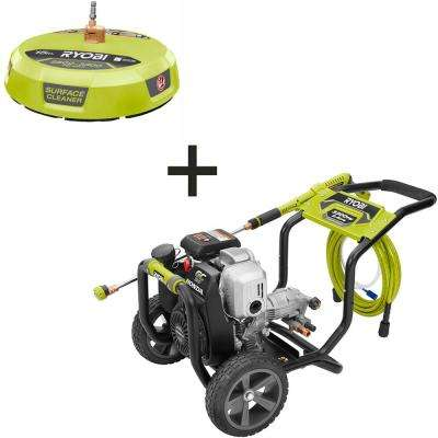 3,300 PSI 2.4 GPM Honda Gas Pressure Washer with 15 in. Surface Cleaner