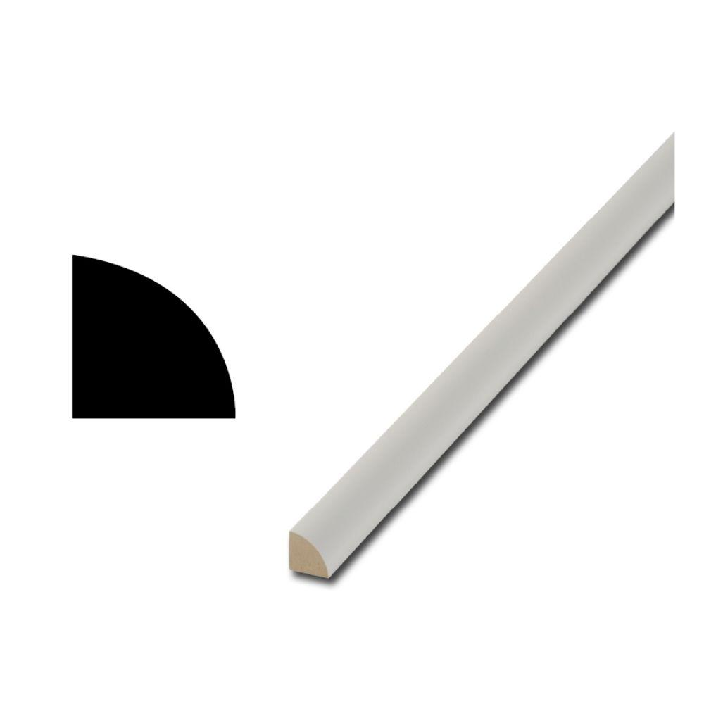 Finished Elegance 106 11/16 in. x 11/16 in. FEMDF Quarter Round Moulding (6-Pieces)-DISCONTINUED