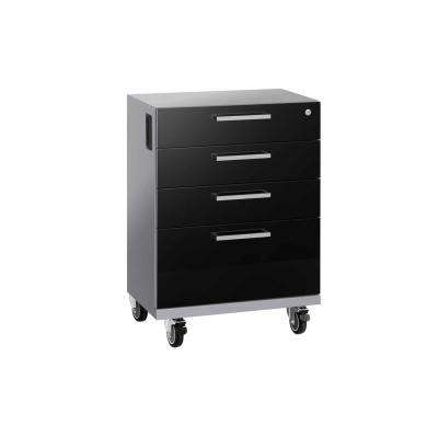 Performance 2.0 Series 20.75 in. W x 33 in. H x 16 in. D 24-Gauge Welded Steel Mobile Tool Drawer Cabinet in Black