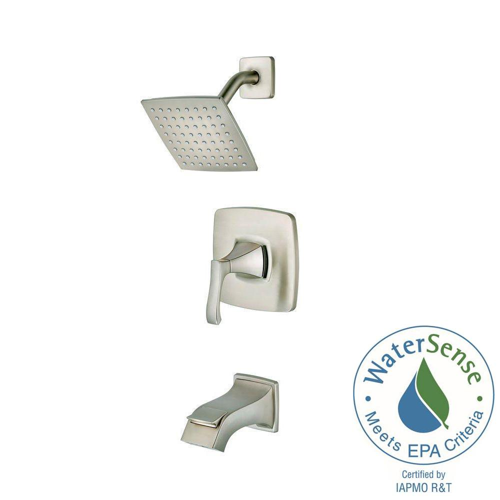 Pfister Venturi Single-Handle 1-Spray Tub and Shower Faucet in Spot ...