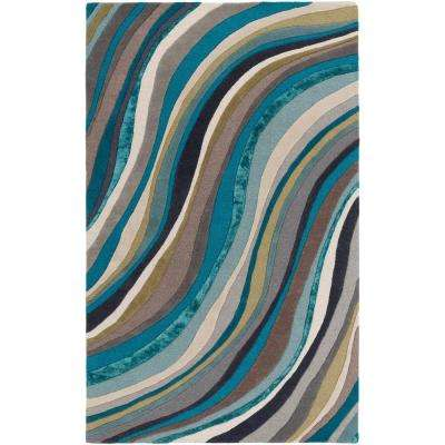 Lounge Carmen Multi 9 ft. x 13 ft. Indoor Area Rug