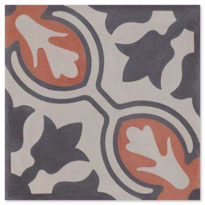 Lisbon Primero 7-7/8 in. x 7-7/8 in. Cement Handmade Floor and Wall Tile