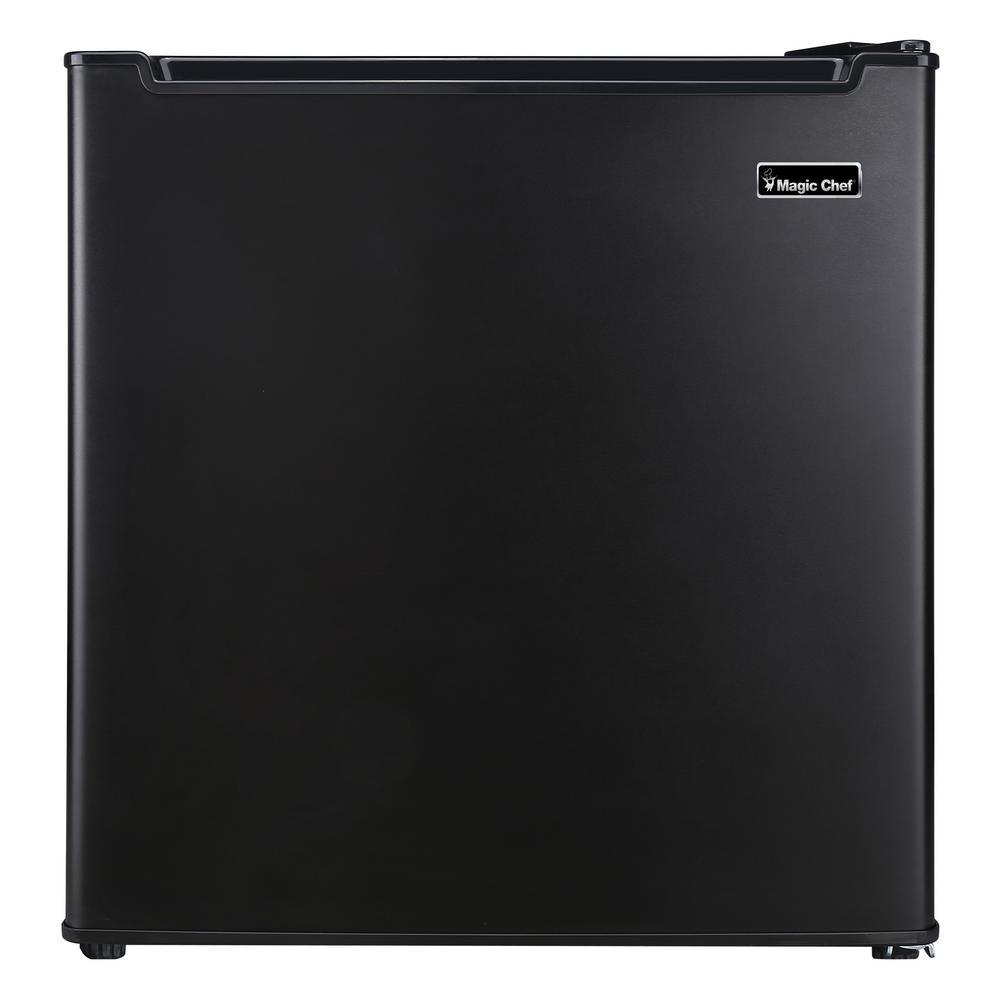 1.7 cu. ft. Freezerless Mini Fridge in Black