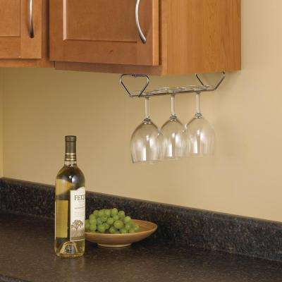 Stemware Racks Kitchen Storage Organization The Home Depot